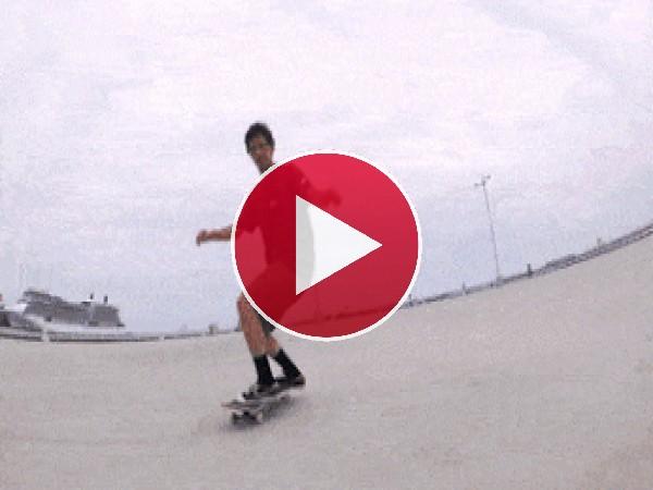GIF: Destreza con el skate