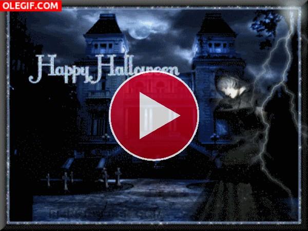 GIF: Feliz noche de Halloween