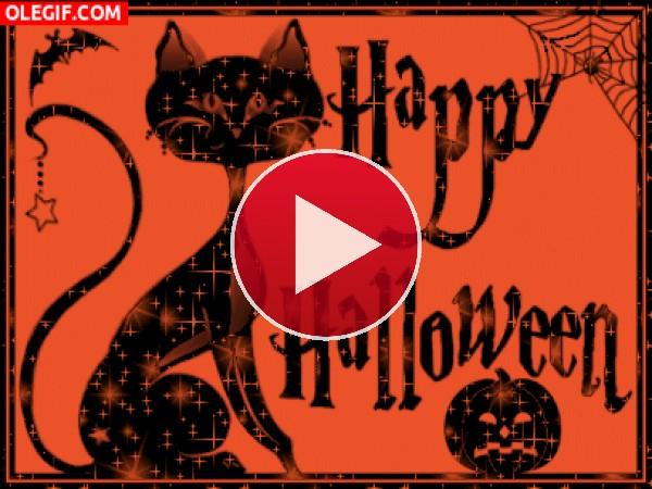 Felicitación para  Halloween