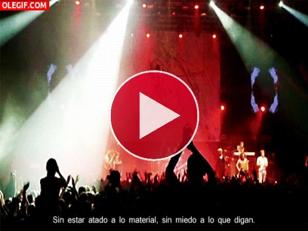 GIF: Diversión en el concierto