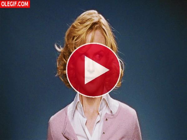 "GIF: La inocencia de Nicole Kidman en ""Embrujada"""