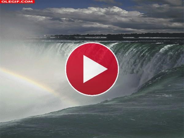 Arcoíris en las Cataratas del Niágara