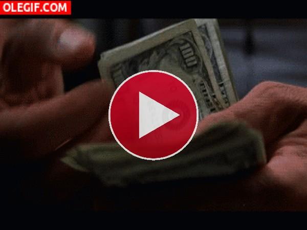 Contando billetes