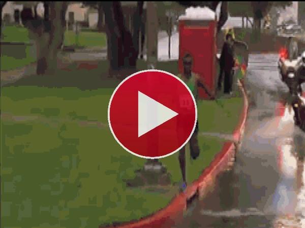 GIF: Corriendo con el agua al cuello