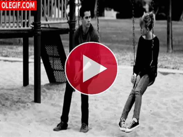 Amor en el parque