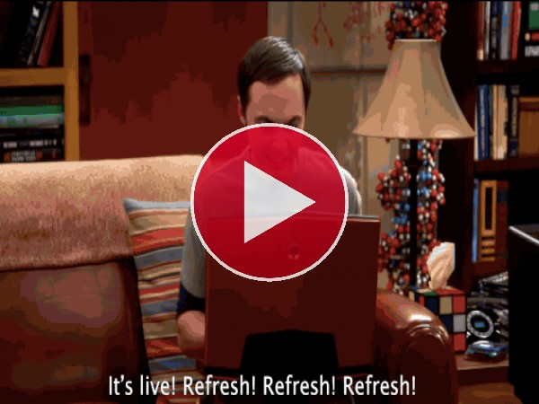"GIF: Escena cómica de ""The Big Bang Theory"""