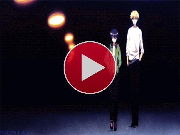 GIF: Ayuzawa Misaki y Usui Takumi paseando