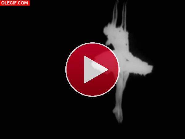 GIF: Una bailarina clásica