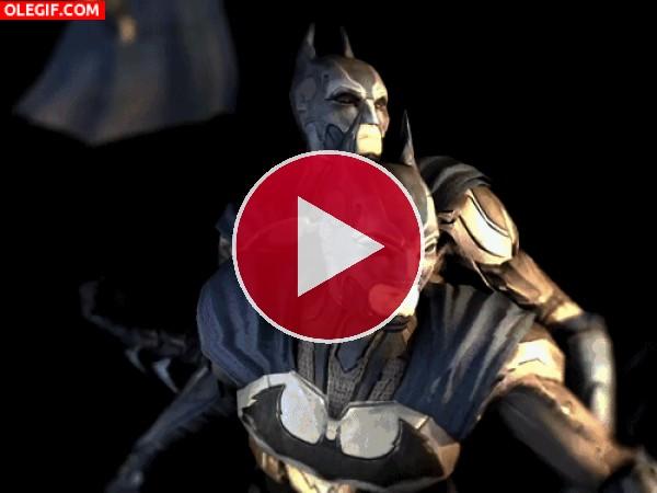 GIF: Batman en movimiento