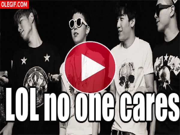 """GIF: Los chicos de """"Big Bang"""""""