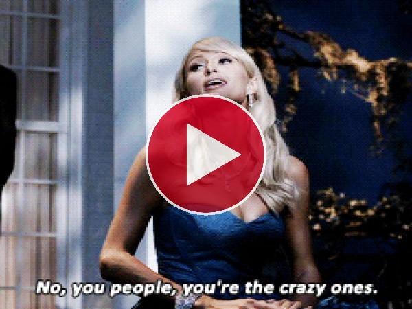 GIF: Paris Hilton es una princesita