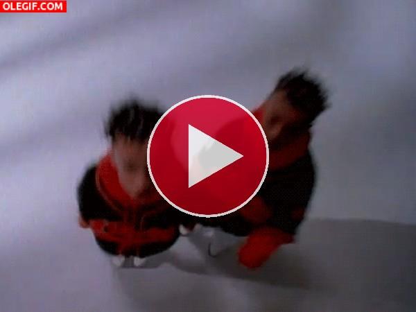 GIF: Saltando sin parar