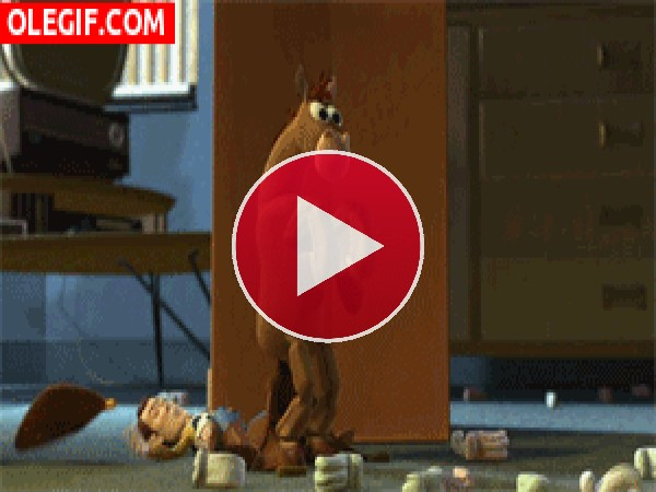 Divertida escena de Toy Story