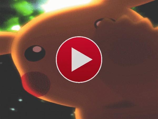 GIF: Pikachu te saluda