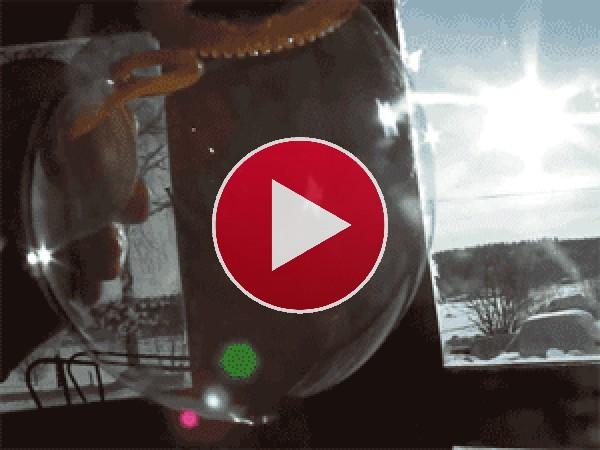 GIF: Pompa de jabón