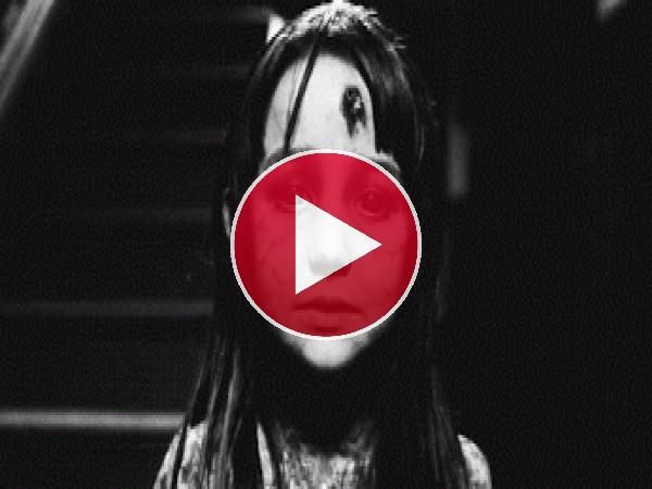 GIF: Esta niña da mucho miedo
