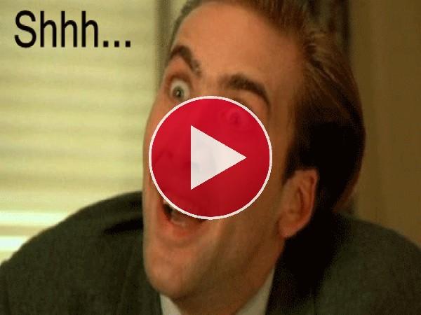 El careto de Nicolas Cage