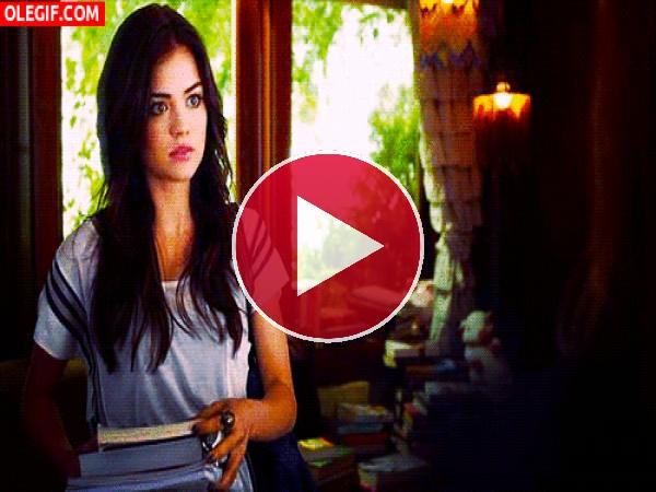 GIF: La guapa Lucy Hale