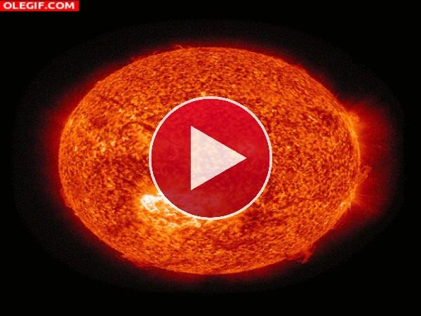 GIF: El sol