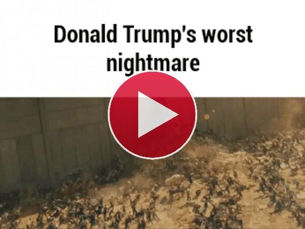 GIF: La peor pesadilla de Donald Trump