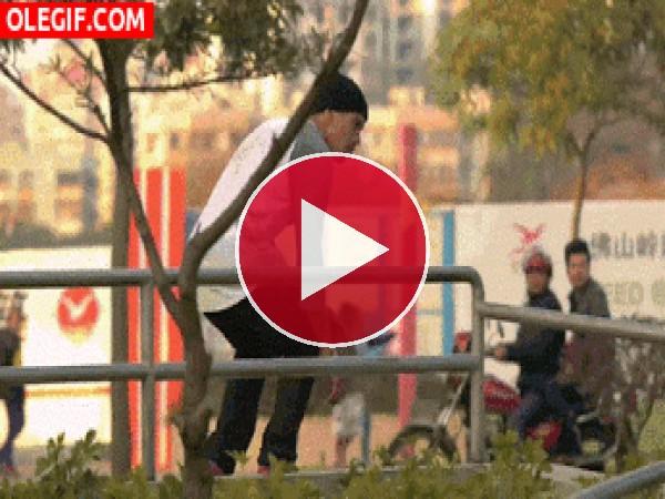 GIF: Buen control del skate