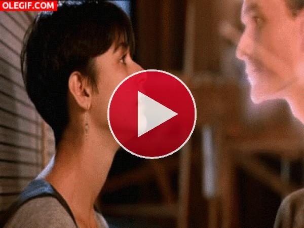 El beso más romántico de la televisón