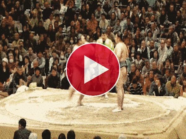 GIF: Bailarina de sumo
