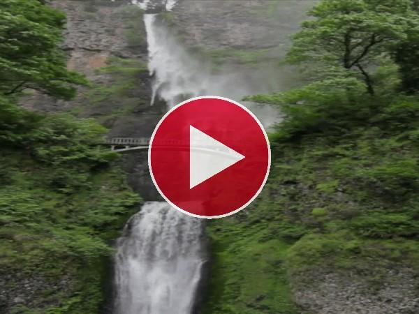 La hermosa cascada Multnomah (Oregón)