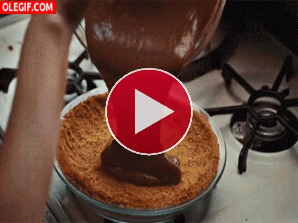 GIF: Delicias de chocolate
