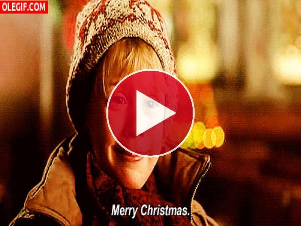 "GIF: Te deseo ""Feliz Navidad"""