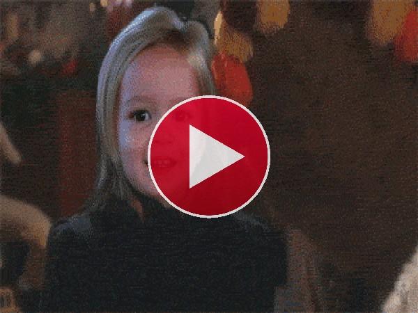 GIF: Papá Noel me da miedo