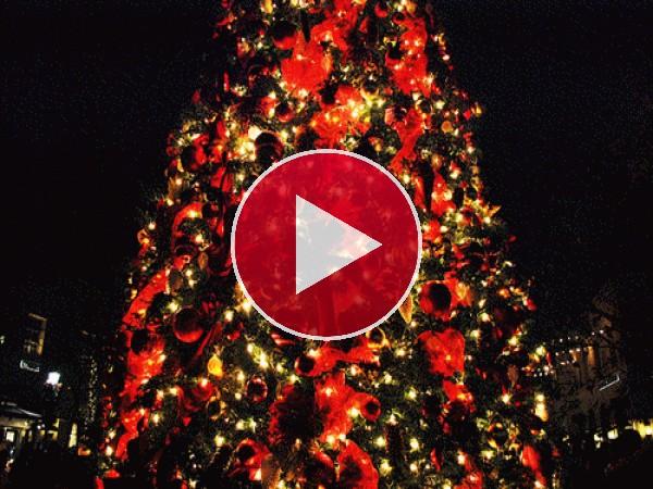 GIF: Luces de Navidad