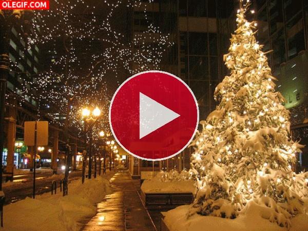 GIF: Hermosas imágenes de Navidad