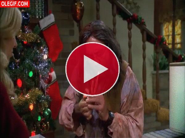 GIF: Me voy a fumar un caramelo de Navidad