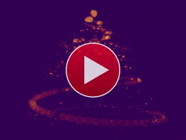 Árbol de Navidad en movimiento