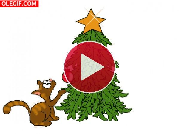 Rompí el árbol de Navidad