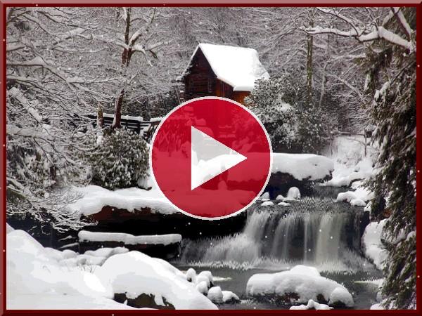 Nieve sobre el molino