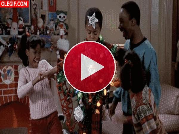 ¡Ya tenemos árbol de Navidad!