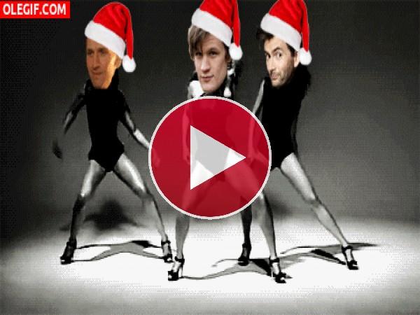Baile navideño