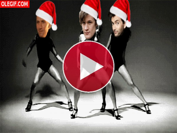 GIF: Baile navideño