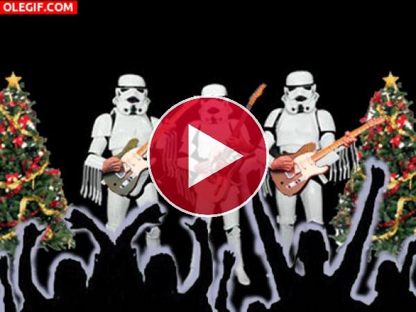 GIF: Concierto navideño de los Soldados Imperiales