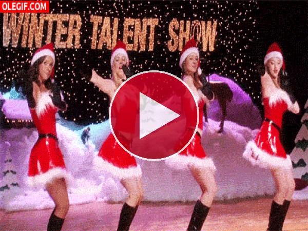 GIF: Bailecito navideño