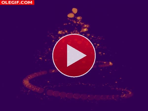 GIF: Un giro a la Navidad