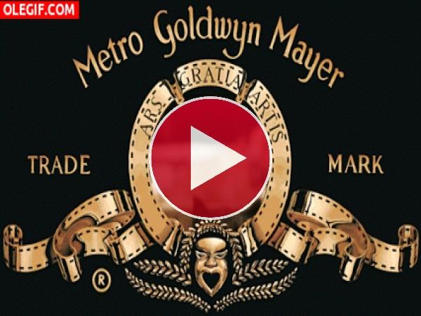 GIF: El nuevo león de la Metro Goldwyn Mayer