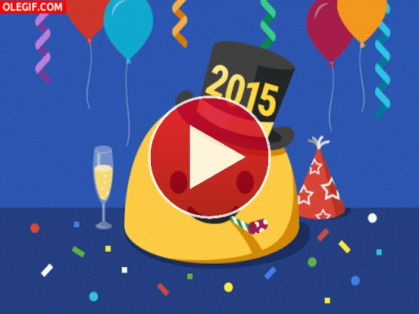 GIF: Feliz 2015