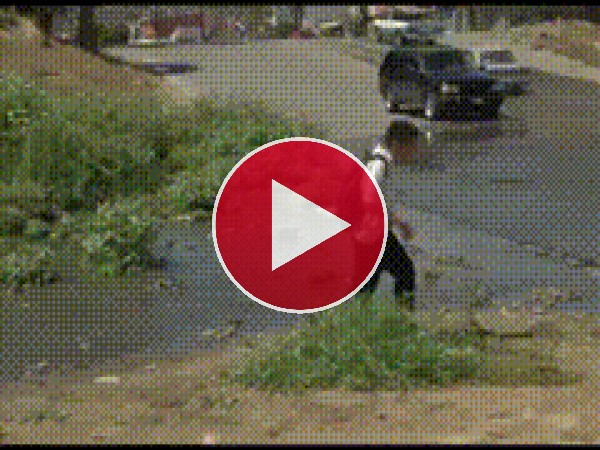 GIF: Culetazo pasado por agua