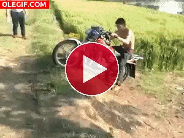 Una moto indomable