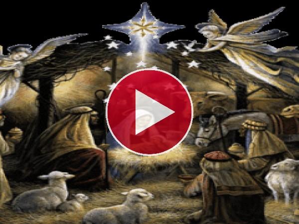 El niño Jesús acaba de nacer