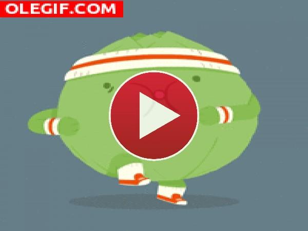 GIF: Hay que ponerse en forma tras las comilonas navideñas
