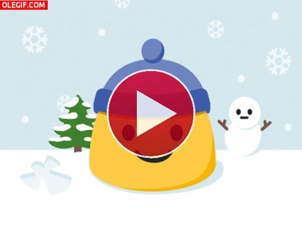 GIF: Llegó el frío invierno